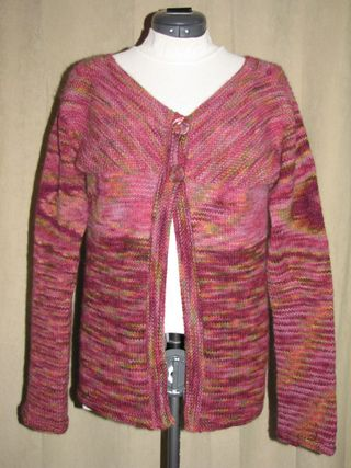 knitted womens sweater front