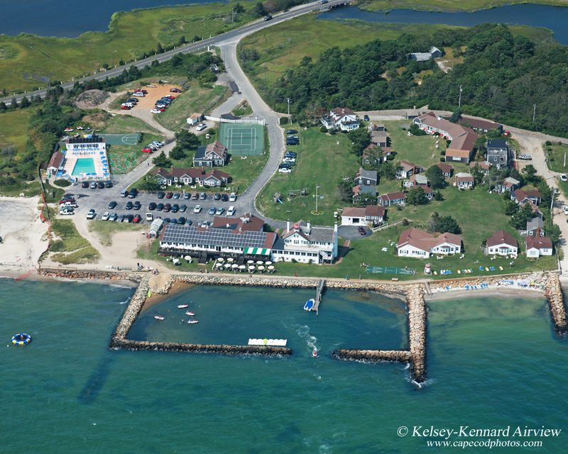 Lighthouse Inn aerial 2012